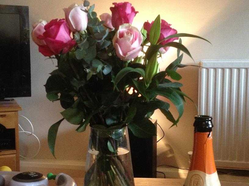 flowers from mum
