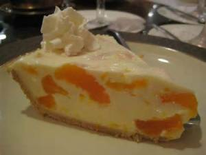 mandarine cream pie