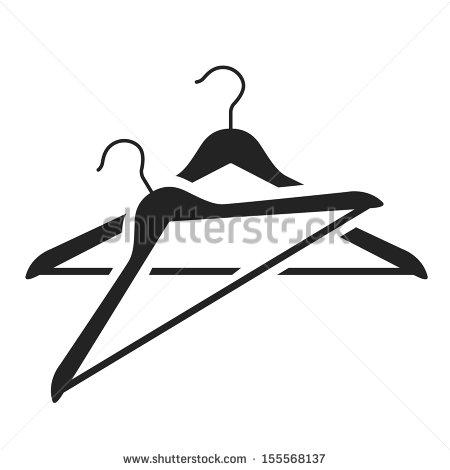 stock-vector-hanger-black-icon-vector-illustration-155568137